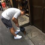 WE LOVE SHINJUKU ! 安心・安全な街に!8月18日に横丁中を除菌・清掃しました!