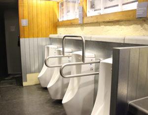 思い出横丁の共同トイレがとてもキレイに改装されました!